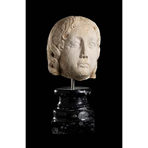 ROMAN PROVINCIAL HEAD 1st century BC - 1st ...