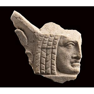 ROMAN MARBLE THEATRICAL MASK 1st - 3rd ...