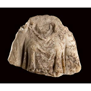 ROMAN MARBLE BUST OF CYBELE ON THRONE 1st - ...