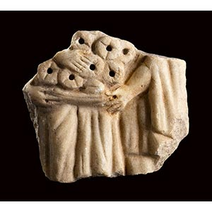 ROMAN MARBLE SLAB WITH OFFERING SCENE 3rd ...