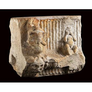ROMAN MARBLE ARCHITECTURAL DECORATION AS ...