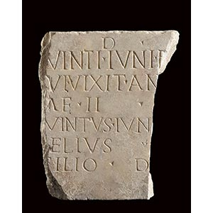ROMAN MARBLE GRAVESTONE 2nd - 3rd century AD ...