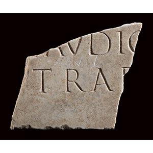 ROMAN MARBLE INSCRIPTION 1st - 2nd century ...