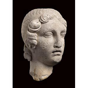 MARBLE HEAD OF VENUS IN THE MANNER OF SAPPHO ...