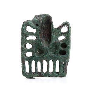 BACTRIAN BRONZE STAMP SEAL WITH EAGLE ...
