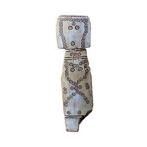 SYRIAN BONE IDOL 3rd millennium BC height cm ...
