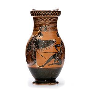 ATTIC BLACK-FIGURE OLPE ca. 525 - 500 BC ...