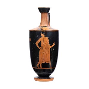 ATTIC RED-FIGURE LEKYTHOS Manner of the ...