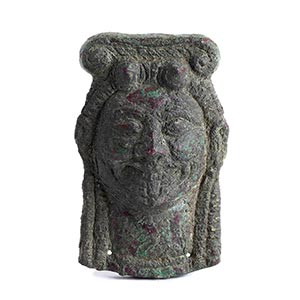 ETRUSCAN BRONZE PLAQUE WITH MEDUSA 6th - 5th ...