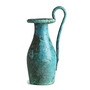 ETRUSCAN BRONZE OLPE 5th century BC height ...