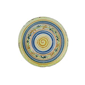 Plate  Plate with narrow brim and wide ...