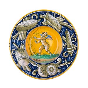 Plate Soup plate with wide everted brim ...