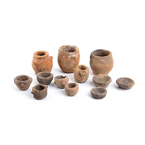 Collection of twelve Protohistoric ...