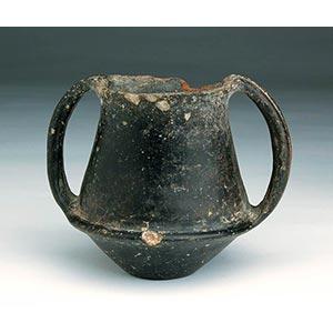 Villanovan impasto krateriskos, 7th century ...