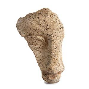 Etruscan terracotta votive mask, 4th-3rd ...