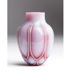 Very rare glass snuff bottle; XIX Century; ...