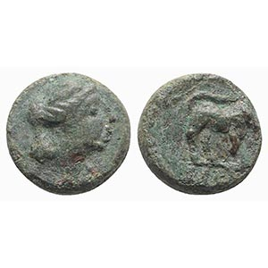 Gaul, Massalia, c. 121-49 BC. Æ (9mm, ...