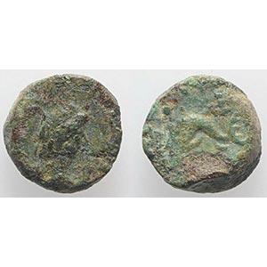 Gaul, Massalia, after 49 BC. Æ (10mm, ...