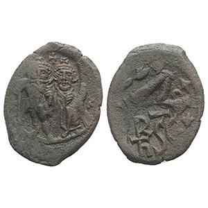 Heraclius (610-641). Æ 40 Nummi (31mm, ...
