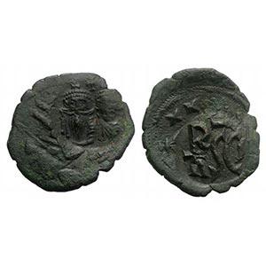 Heraclius (610-641). Æ 40 Nummi (27mm, ...