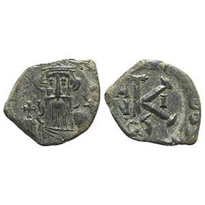 Constans II (641-668). Æ 20 Nummi (23mm, ...