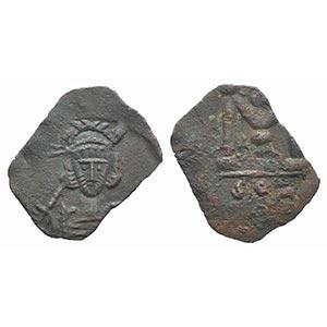 Constantine IV (668-685). Æ 40 Nummi (20mm, ...