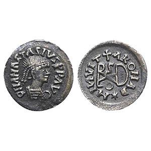 Gepids, Uncertain king, c. 454-552. Broken ...