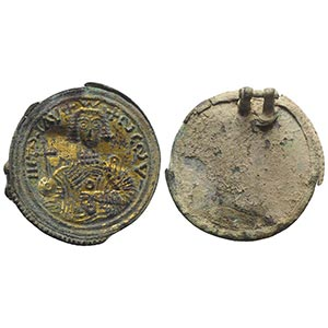 Lombards, Bronze Lid (39mm, 11.14g), with ...