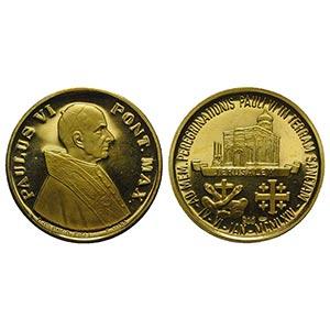 Papal, Paolo VI (1963-1978). AV Medal 1964 ...