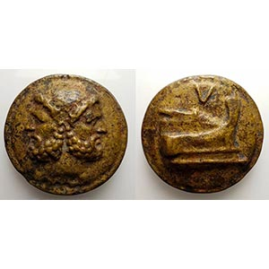 Modern counterfeit of a Roman Republican ...