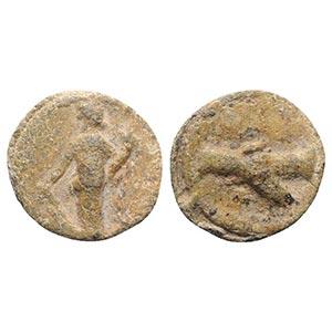 Roman PB Tessera, c. 1st century BC - 1st ...