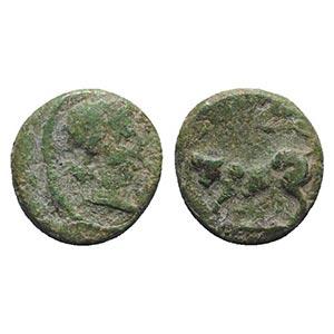 Gaul, Massalia, after 49 BC. Æ (11mm, ...