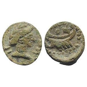 Gaul, Massalia, after 49 BC. Æ (10.5mm, ...