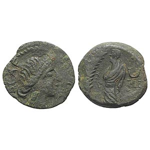 Gaul, Southern. Volcae-Arecomici, c. 77-44 ...