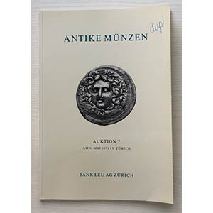Bank Leu Auktion 7 Antike Munzen Kelten ...