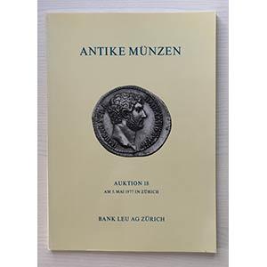 Bank Leu Auktion 18 Antike Munzen Kelten ...