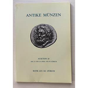 Bank Leu Auktion 20 Antike Munzen Griechen ...
