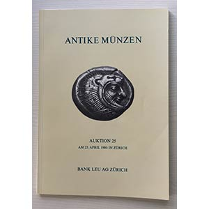 Bank Leu Auktion 25 Antike Munzen Kelten ...