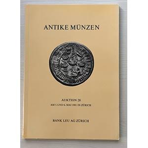 Bank Leu Auktion 28 Antike Munzen der ...