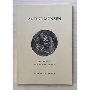 Bank Leu Auktion 30 Antike Munzen Griechen ...