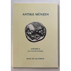 Bank Leu Auktion 33 Antike Munzen Romer , ...