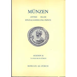 Bank Leu  Auktion  36 – Zurich, 7\8 – ...