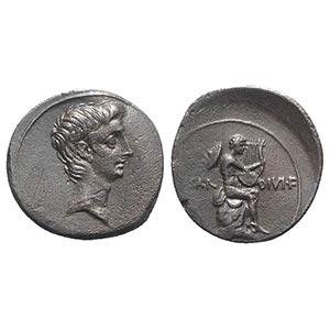 Octavian, Rome(?), Autumn 32-summer 31 BC. ...