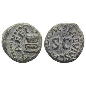 Augustus (27 BC-14 AD). Æ Quadrans (13mm, ...
