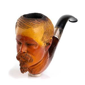 Meerschaum pipe - England late 19th early ...