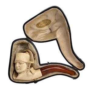 Meerschaum pipe - France late 19th early ...