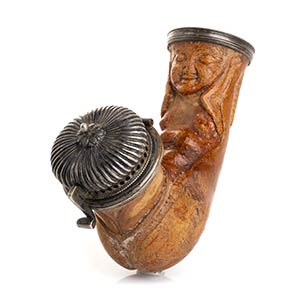 Meerschaum pipe - England, late 19th early ...