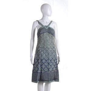 ANNA MARIA FANUCCHI  SILK GEORGETTE DRESS ...