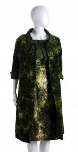 ANNA MARIA FANUCCHI  OVERCOAT AND DRESS 60s  ...