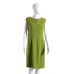GERMANA MARUCELLI COTTON SHANTUNG DRESS Mid ...